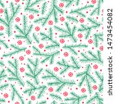 holiday christmas winter... | Shutterstock .eps vector #1473454082
