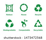 reduce  reuse  recycle ...   Shutterstock .eps vector #1473472568