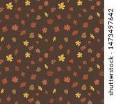 Seamless Autumn Pattern....
