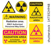 Radiation Signs. Signs Warning...