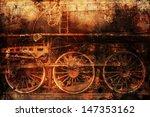 Rusty Old Train Industrial...