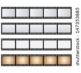 vector pack film strip isolated | Shutterstock .eps vector #147353885