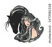 Beautiful Fairy Tale Woman Wit...