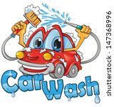 car wash service | Shutterstock .eps vector #147368996