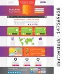 universal website design ... | Shutterstock .eps vector #147369638