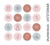 vector set design colorful...   Shutterstock .eps vector #1473720668
