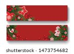 christmas scandinavian design.... | Shutterstock .eps vector #1473754682