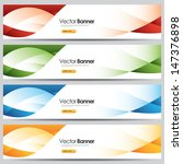vector colorful website banners | Shutterstock .eps vector #147376898