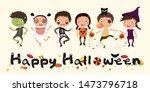 happy halloween  truck or treat ...   Shutterstock .eps vector #1473796718