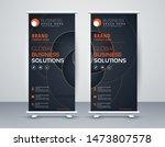 business roll up. standee... | Shutterstock .eps vector #1473807578