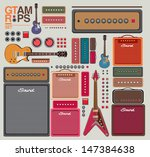 Vector Compilation Guitar And...
