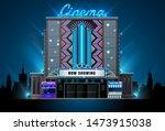 theater cinema building vector... | Shutterstock .eps vector #1473915038