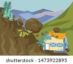 Landslide. The Building Is...