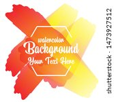 watercolor background abstarct...   Shutterstock .eps vector #1473927512