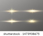 yellow glowing light explodes... | Shutterstock .eps vector #1473938675