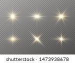 yellow glowing light explodes... | Shutterstock .eps vector #1473938678