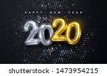 happy new 2020 year. holiday... | Shutterstock .eps vector #1473954215