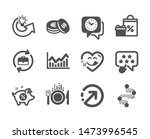 set of business icons  such as... | Shutterstock .eps vector #1473996545