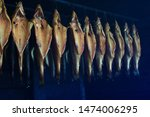 traditional fish smoking on... | Shutterstock . vector #1474006295