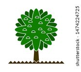 tree plant icons. flat...   Shutterstock .eps vector #1474224725