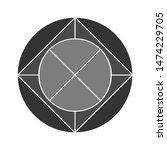 wheel icon. flat illustration... | Shutterstock .eps vector #1474229705