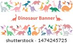 horisontal banner from cartoon... | Shutterstock . vector #1474245725