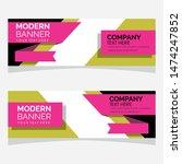 modern design  web banner... | Shutterstock .eps vector #1474247852