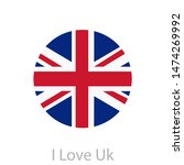 uk flag icon in eps | Shutterstock .eps vector #1474269992