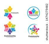 leadership community social and ... | Shutterstock .eps vector #1474275482