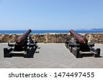 Italy  Sardinia  Old Cannons On ...