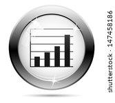 metallic icon with black design ... | Shutterstock . vector #147458186