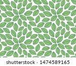 leaves pattern. endless...   Shutterstock .eps vector #1474589165