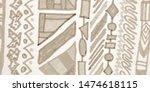 african trendy. navajo... | Shutterstock . vector #1474618115