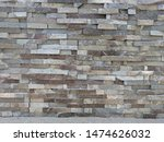 Grey Tile Stone Texture Wall