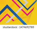 vector abstract background... | Shutterstock .eps vector #1474692785