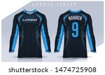 t shirt sport design template ... | Shutterstock .eps vector #1474725908