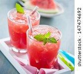 watermelon refreshment | Shutterstock . vector #147474692