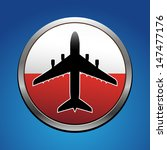 airplane symbol with poland...   Shutterstock .eps vector #147477176