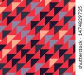abstract geometric polygonal...   Shutterstock .eps vector #1474829735