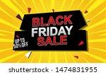 black friday sale banner design....   Shutterstock .eps vector #1474831955