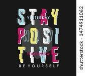 slogan urban denim graphic... | Shutterstock .eps vector #1474911062