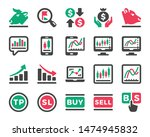 stock market online and stock... | Shutterstock .eps vector #1474945832