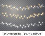christmas lights. light bulb... | Shutterstock .eps vector #1474950905