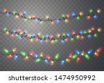 Christmas Lights. Vector String ...