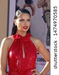 adriana lima at the los angeles ... | Shutterstock . vector #1474970585