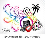 colorful musical background... | Shutterstock .eps vector #147499898