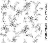beautiful lilia  great design... | Shutterstock .eps vector #1474999868