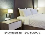 Stock photo luxury modern hotel room bangkok thailand 147500978
