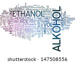 word cloud   alcohol | Shutterstock . vector #147508556