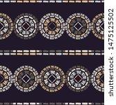 polka dots seamless pattern.... | Shutterstock .eps vector #1475125502